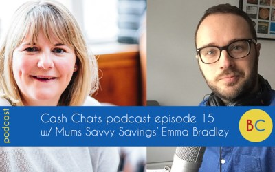Cash Chats podcast episode 15 w/ guest Emma Bradley