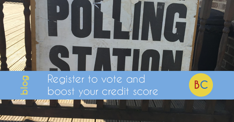 Register to vote - and boost your credit rating
