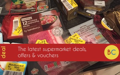 Supermarket deals, offers and vouchers – inc free Easter Egg