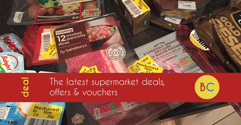 Supermarket deals, offers and vouchers – inc free ice creams