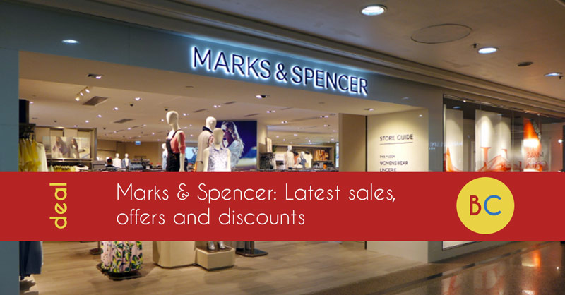 Marks & Spencer - How to save up to 20% off (September 2019