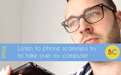 Listen to the phone scammers trying to take over my computer