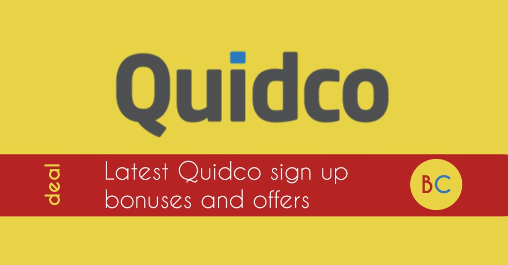 quidco sign up deals