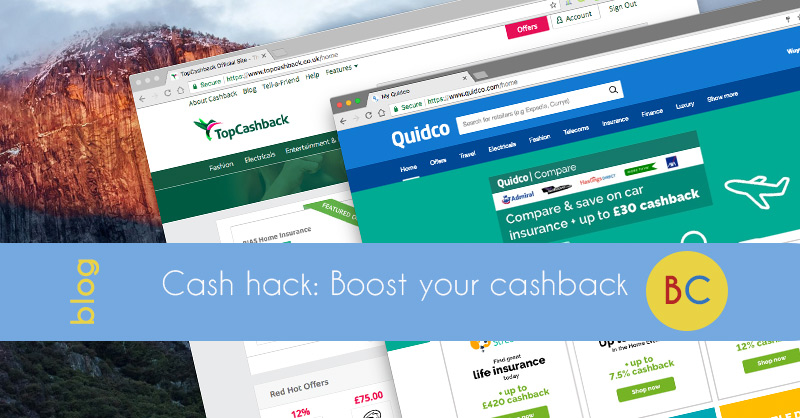 boost your cashback