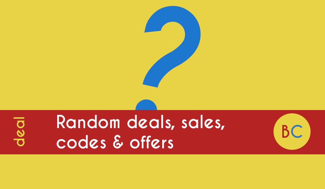 Latest random deals inc free tennis weekend
