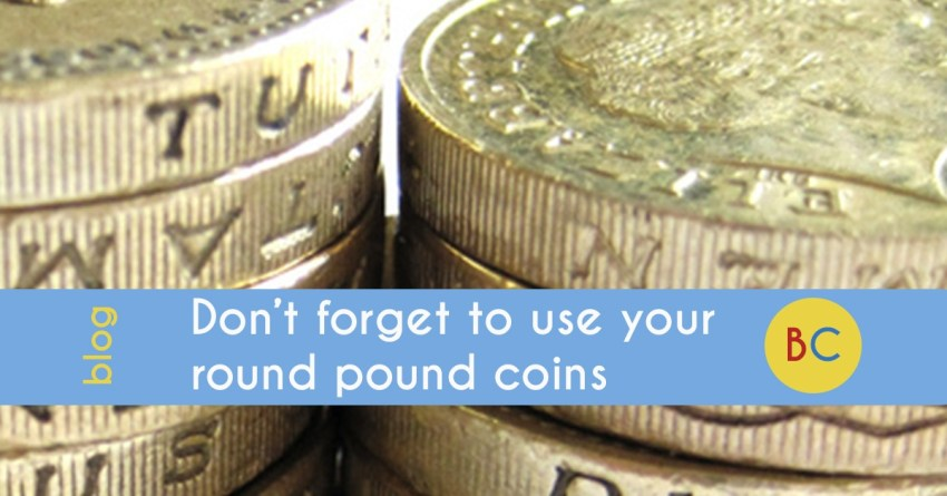Have you still got any old round pound coins?