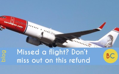 Missed a flight? Don't miss out on this tax refund