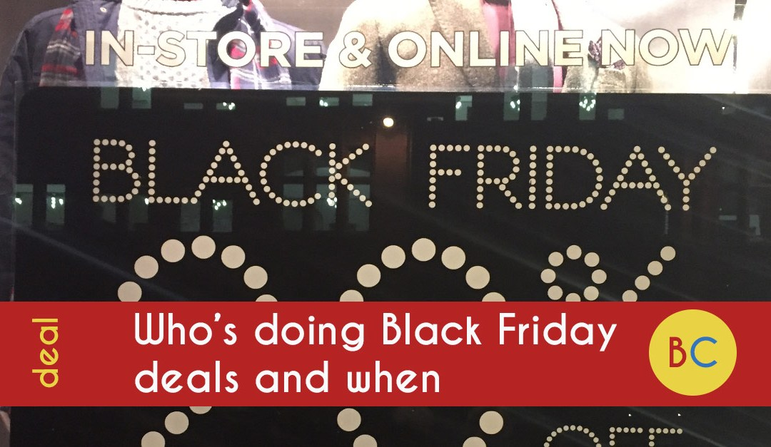 feac978844a Who s doing Black Friday and Cyber Monday deals and when – my huge list of  where to shop
