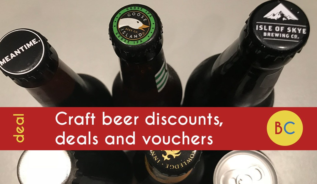 Craft beer discounts, deals and vouchers – 8 cans of Brewdog for £9