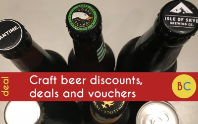 Craft beer discounts, deals and vouchers