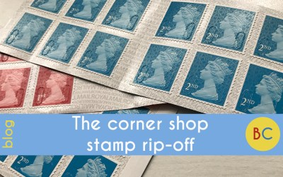 The corner shop stamp rip-off