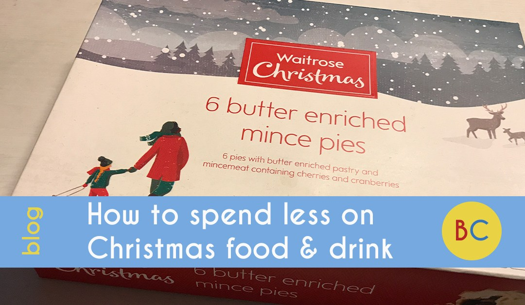 spend less on christmas food and drink