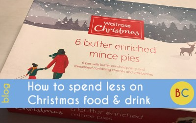 How to spend less on Christmas food and drink