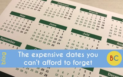 The expensive dates you can't afford to forget