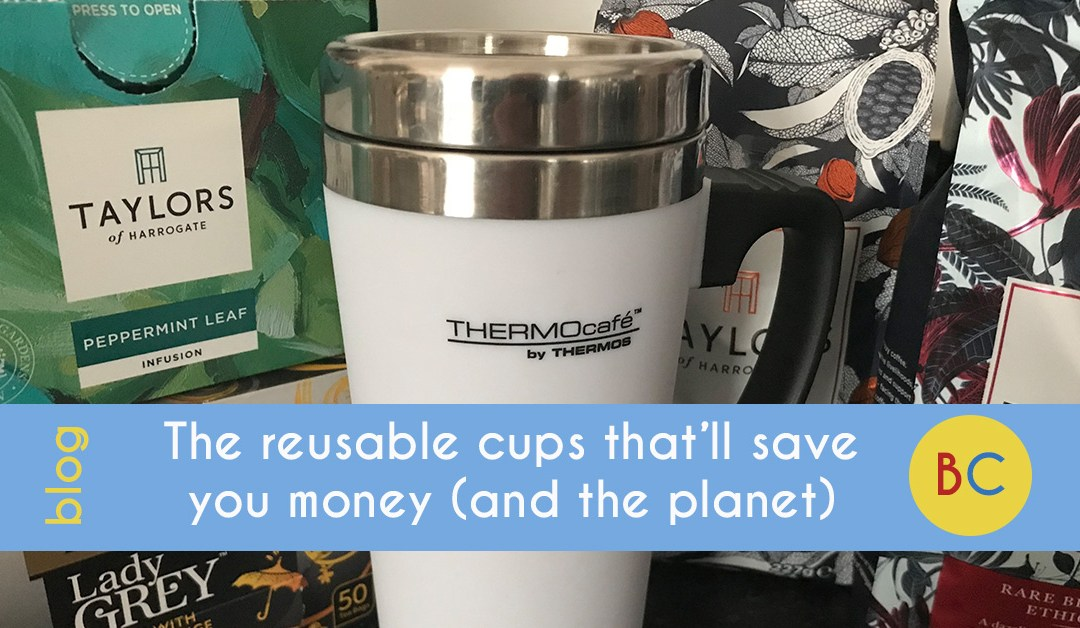 Reusable cups save money