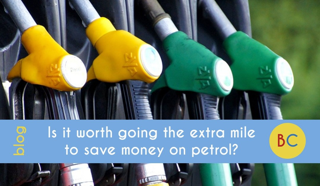 Is it worth going the extra mile to save money on petrol?