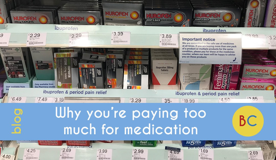 Paying too much for medication