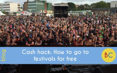 Cash hack: How to go to festivals for free