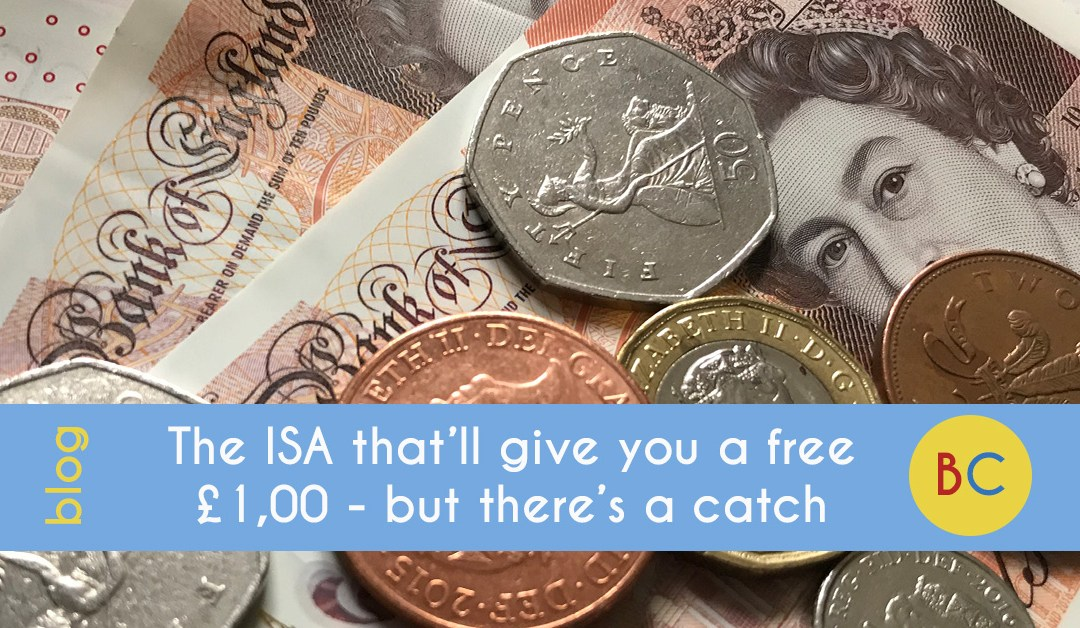 The ISA that'll give you a free £1,000 – but there's a catch