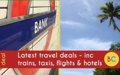 Travel deals inc 10p Northern Rail fares