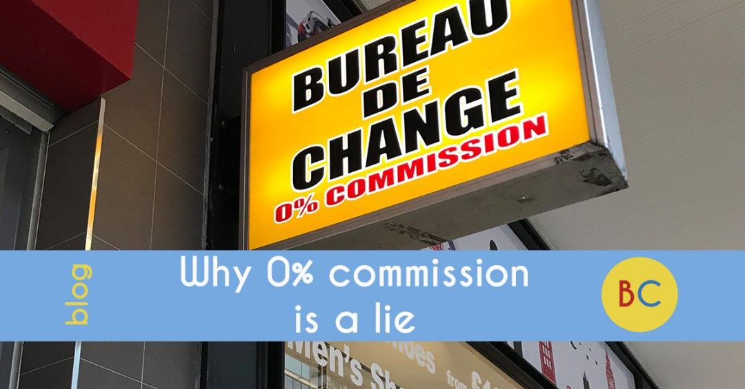 Why 0% commission is a lie