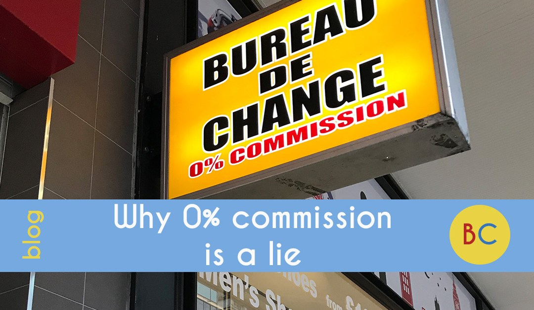Why 0% currency commission is a lie