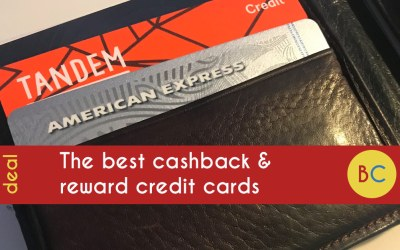 The best cashback and reward credit cards – inc 5% Amex