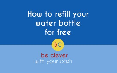 How to refill your water bottle for free