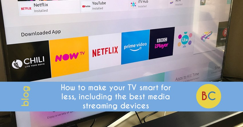 How to make your TV smart for less