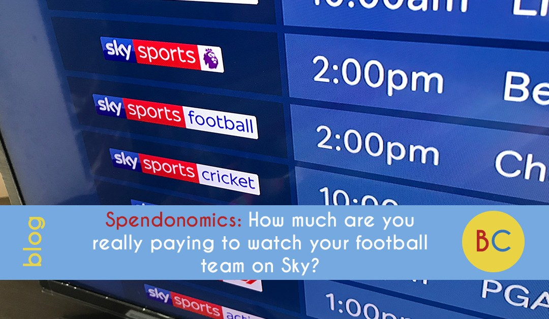 Spendonomics: How much are you really paying to watch your football team on Sky Sports?