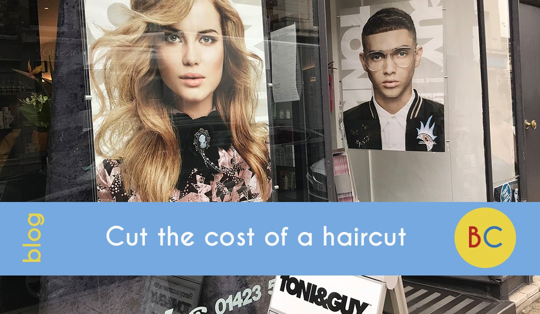Cut the cost of a haircut
