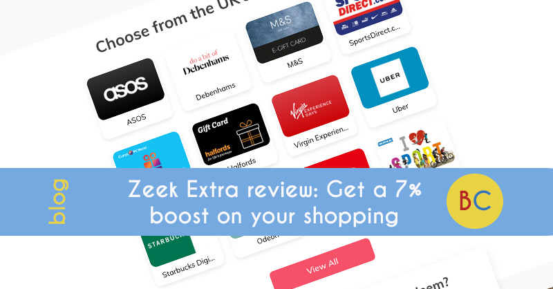 4df1bdc660a5 Zeek Extra review  Get a 7% boost on your shopping