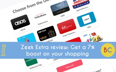 Zeek Extra review: Get a 7% boost on your shopping