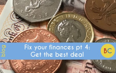Fix your finances in 2019 part 4: Get the best deal