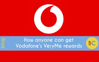 How anyone can get Vodafone's VeryMe rewards