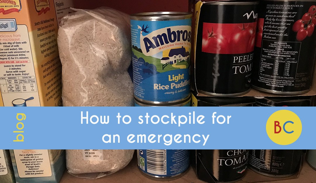 How to stockpile for an emergency