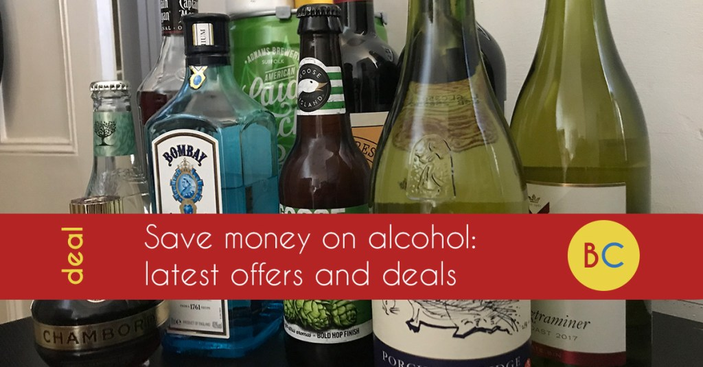 beer, wine and spirits offers