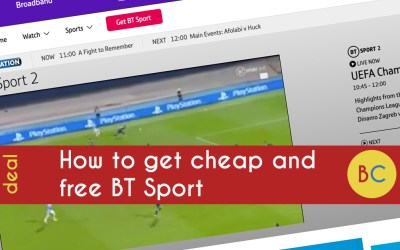 How to watch BT Sport for free
