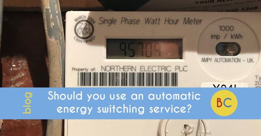 Should you use an automatic energy switching service?