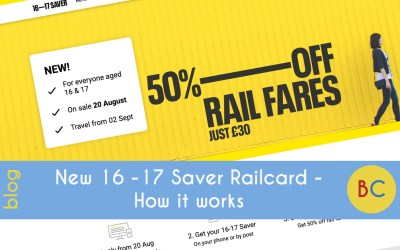 New 16 -17 Saver Railcard – how it works