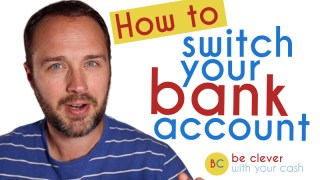 How to switch bank accounts