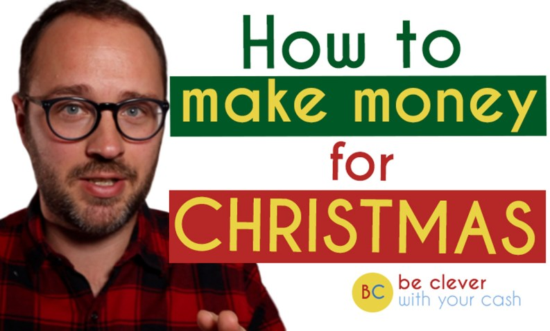 How to make extra money in time for Christmas