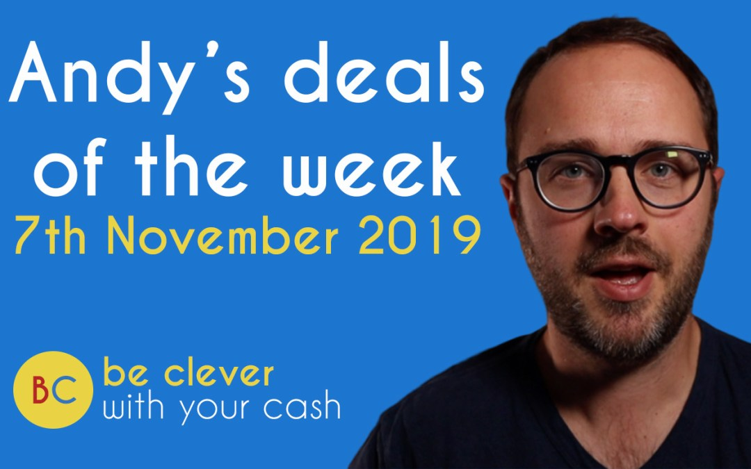 Deals of the week 7th November 2019