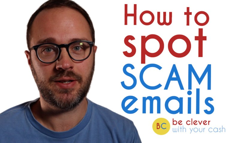 Scam emails: How to spot them