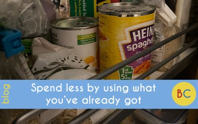 Frugal January: Spend less by using what you've already got