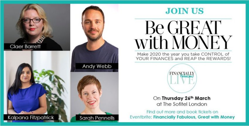 Win tickets to Financially Fabulous Live on 26th March