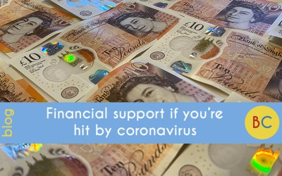 Financial support if you're hit by coronavirus