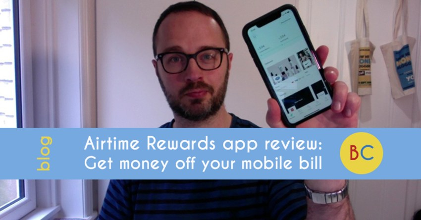 Airtime Rewards review - get money off your mobile phone bill (& promo code)