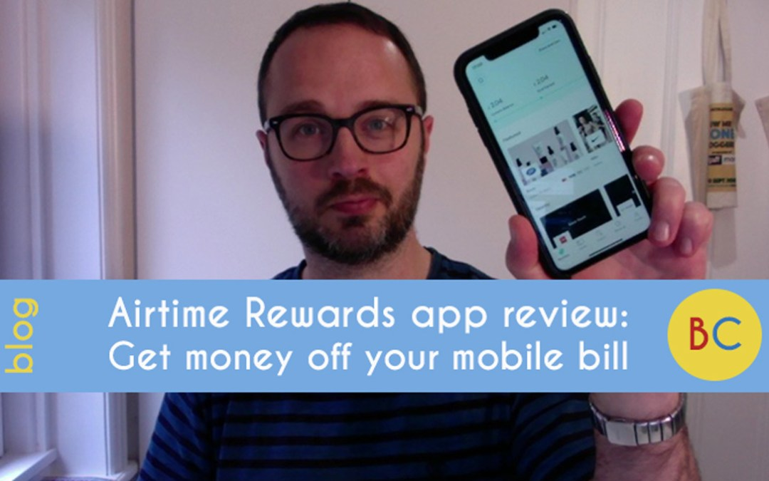 Airtime Rewards review – get money off your mobile phone bill