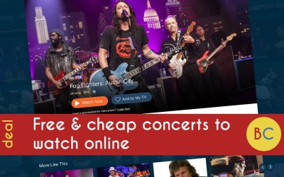 50 free and cheap concerts to watch online